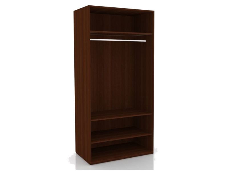 Шкаф 2-х створчатый корпус ЛД 625050.000 М 1096х2304х612