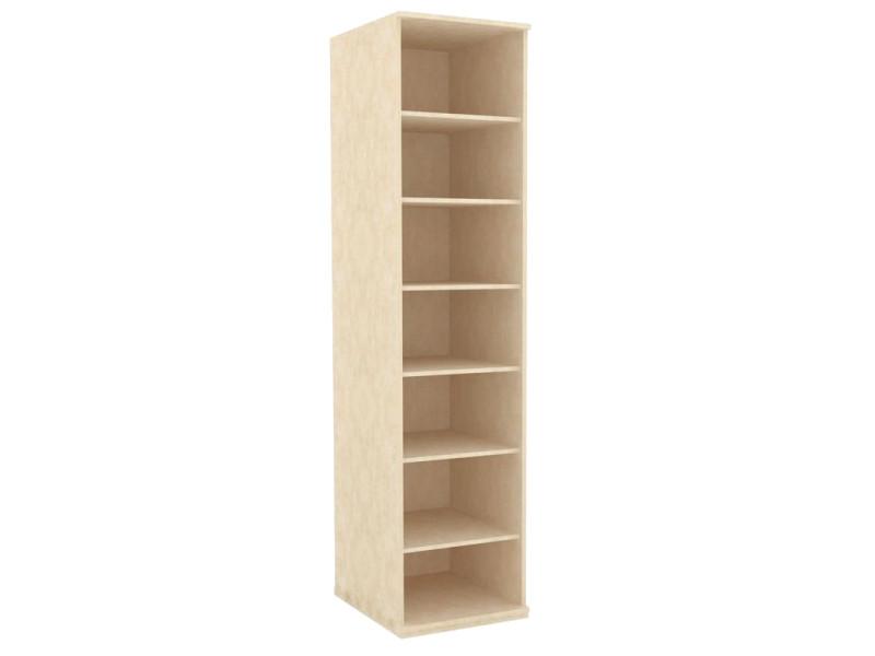 Шкаф одностворчатый корпус ЛД 625040.000 М 548х2304х612