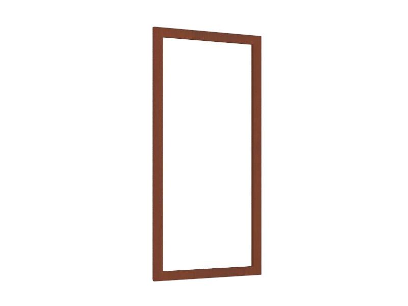Зеркало настенное ЛД 125.140.000 594х1062