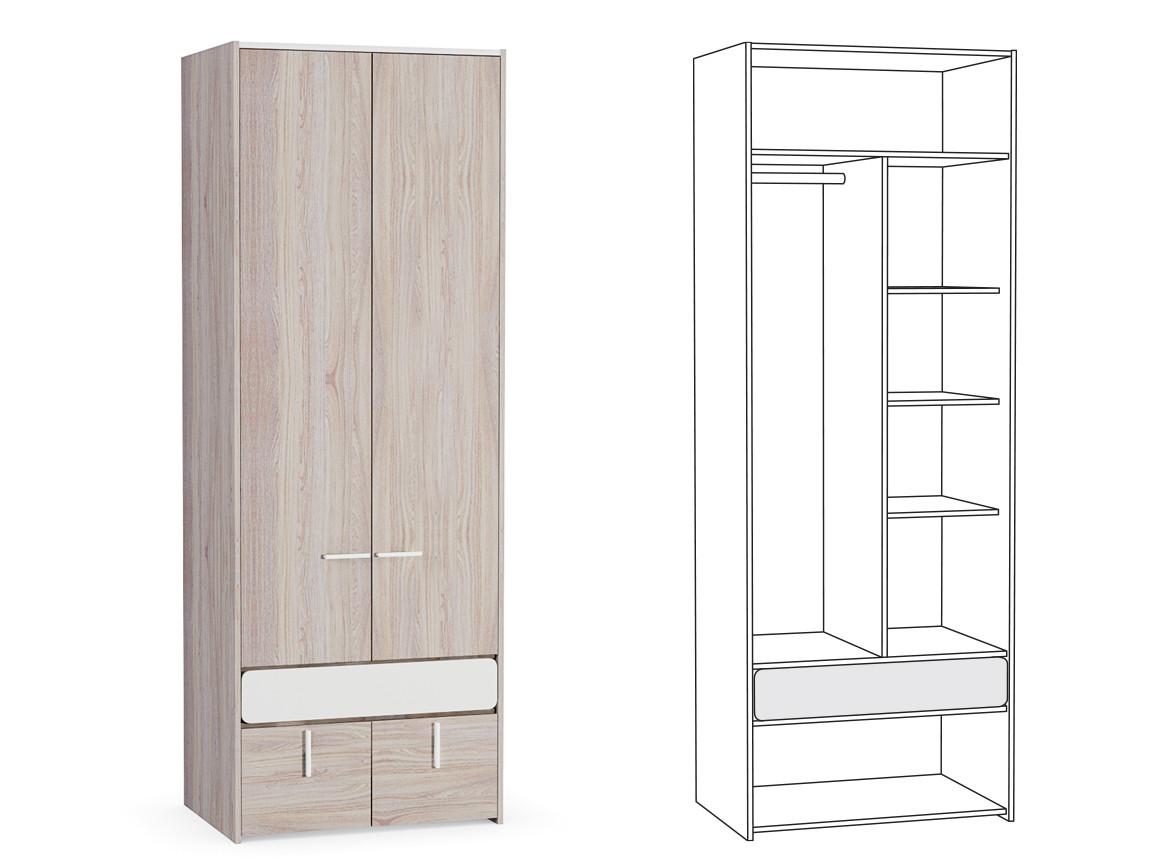 Шкаф для одежды 200 800х554х2214