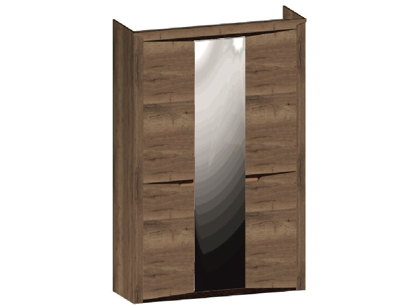 Шкаф 3-х дверный 1520х520х2300