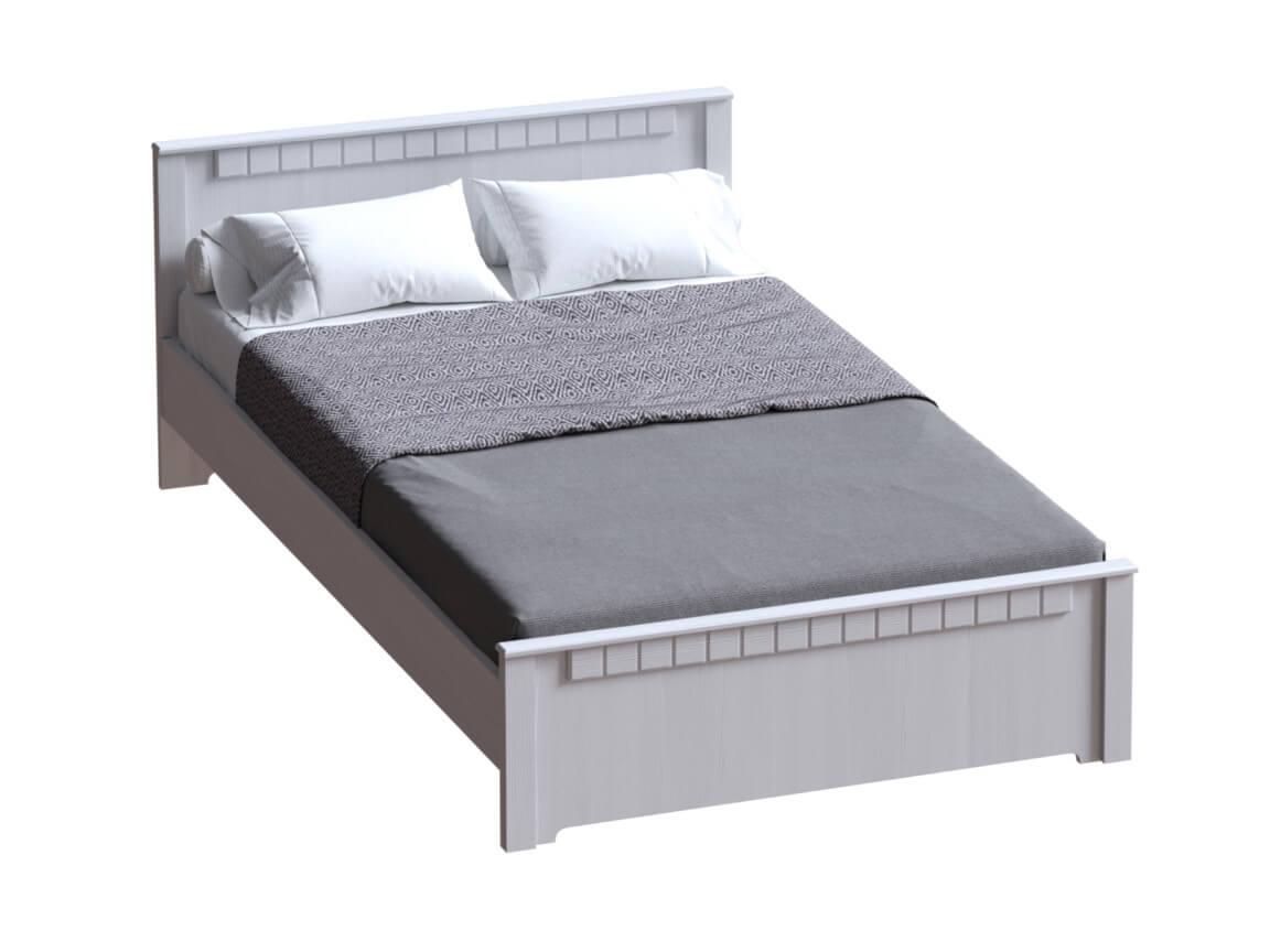 Кровать без основания Бодега белая 1400х2000