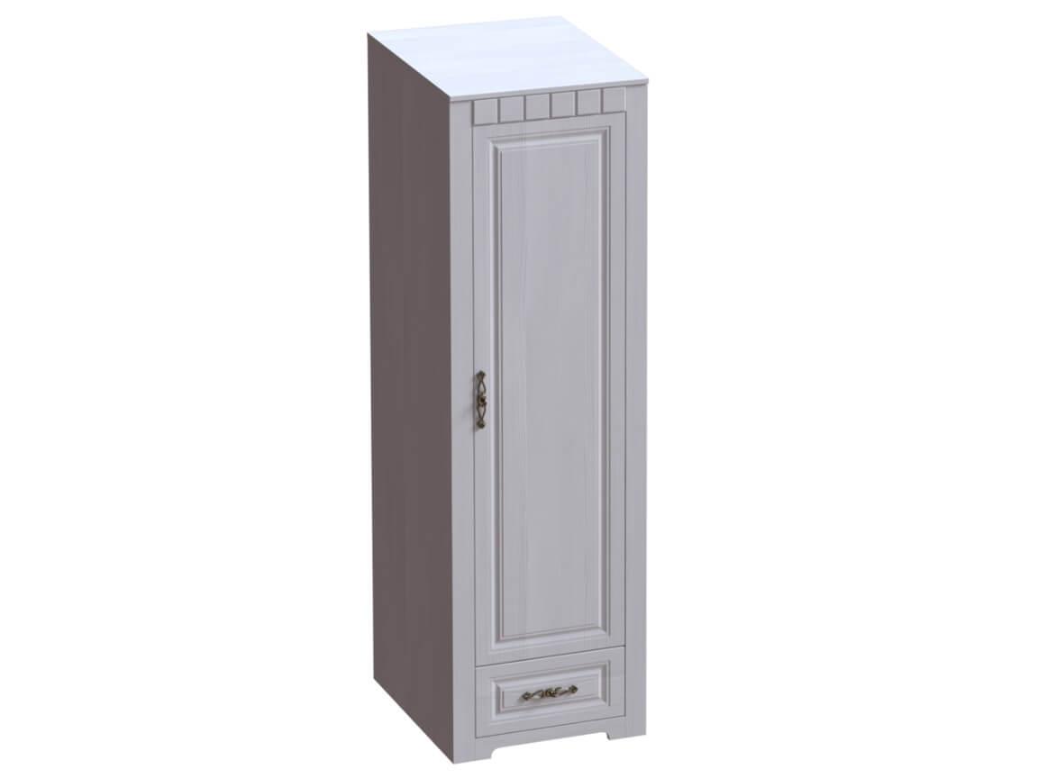 Шкаф однодверный платяной 602х590х1970 Бодега белая