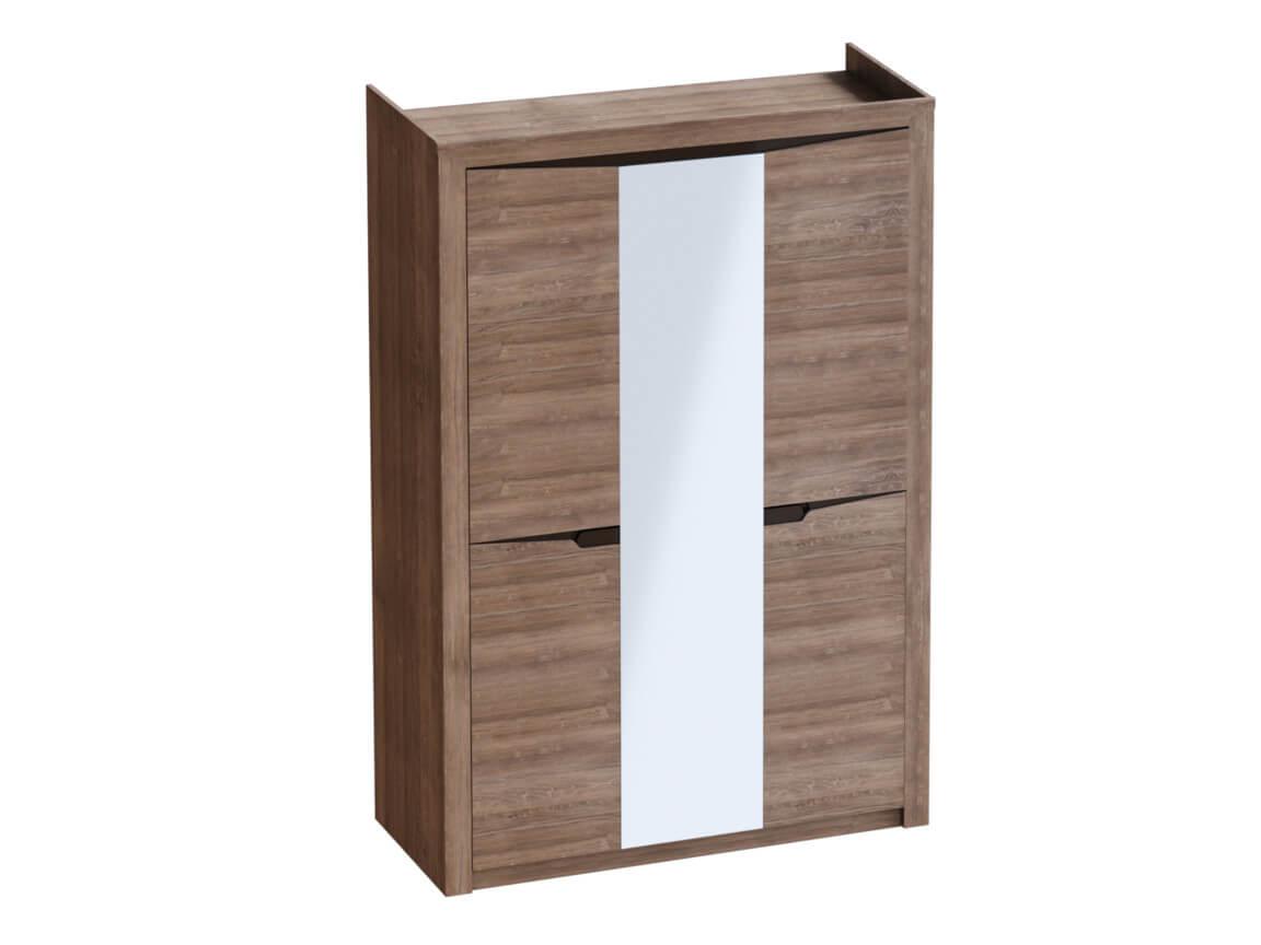 Шкаф 3-дверный 1520х545х2200