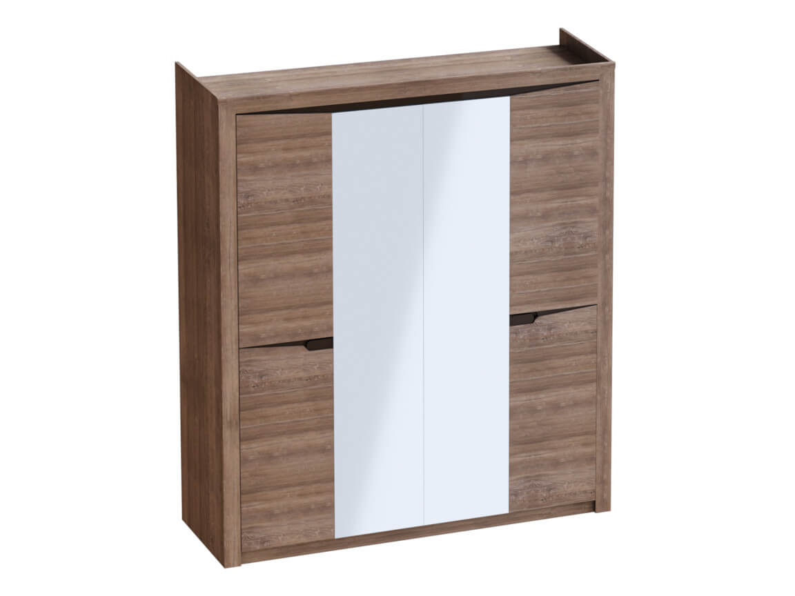 Шкаф 4 дверный 1965х545х2200