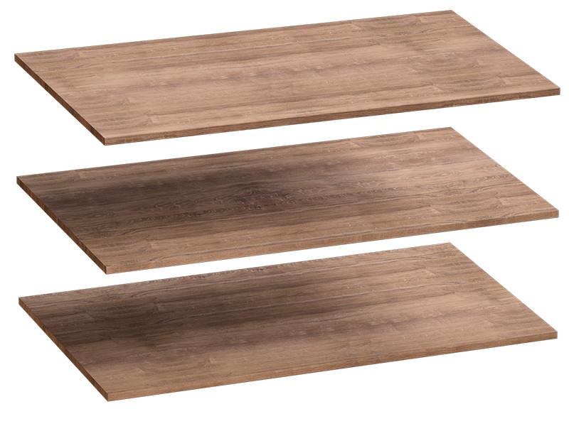 Комплект полок 3 шт для 4-дверного шкафа 1026х510х16