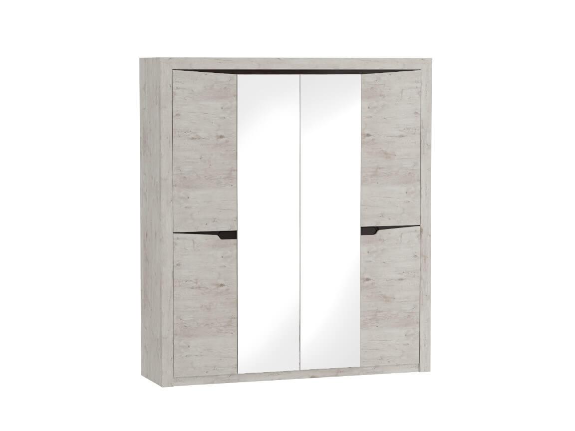Шкаф 4 дверный 1965х545х2200 Дуб бонифаций