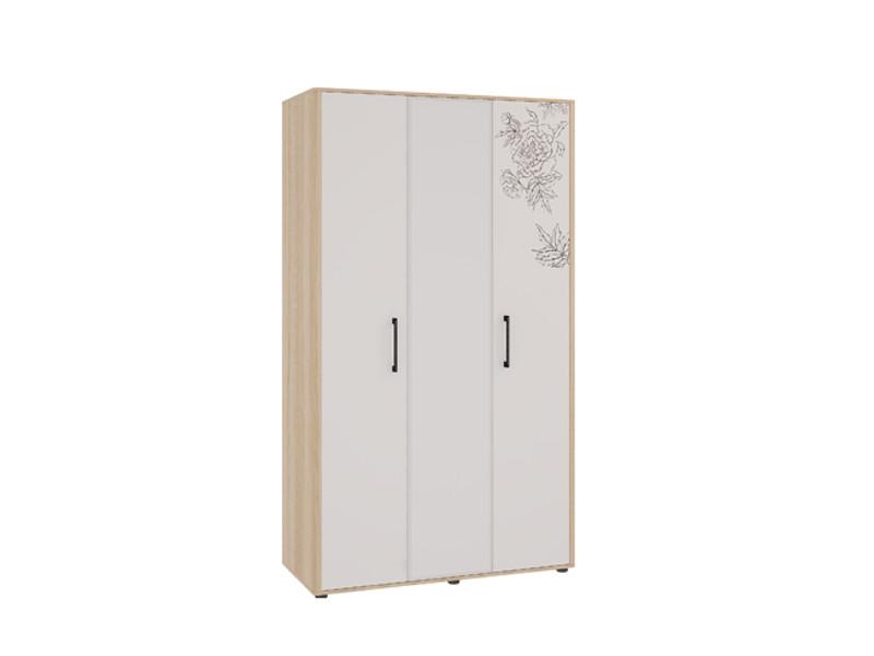 Шкаф 3-створчатый  ш=1256 мм г=564 мм в=2165 мм