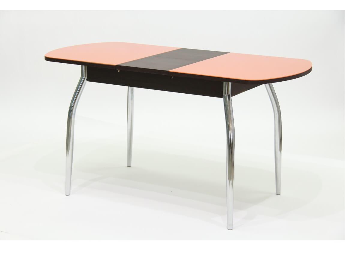 лдсп венге - стекло оранжевое
