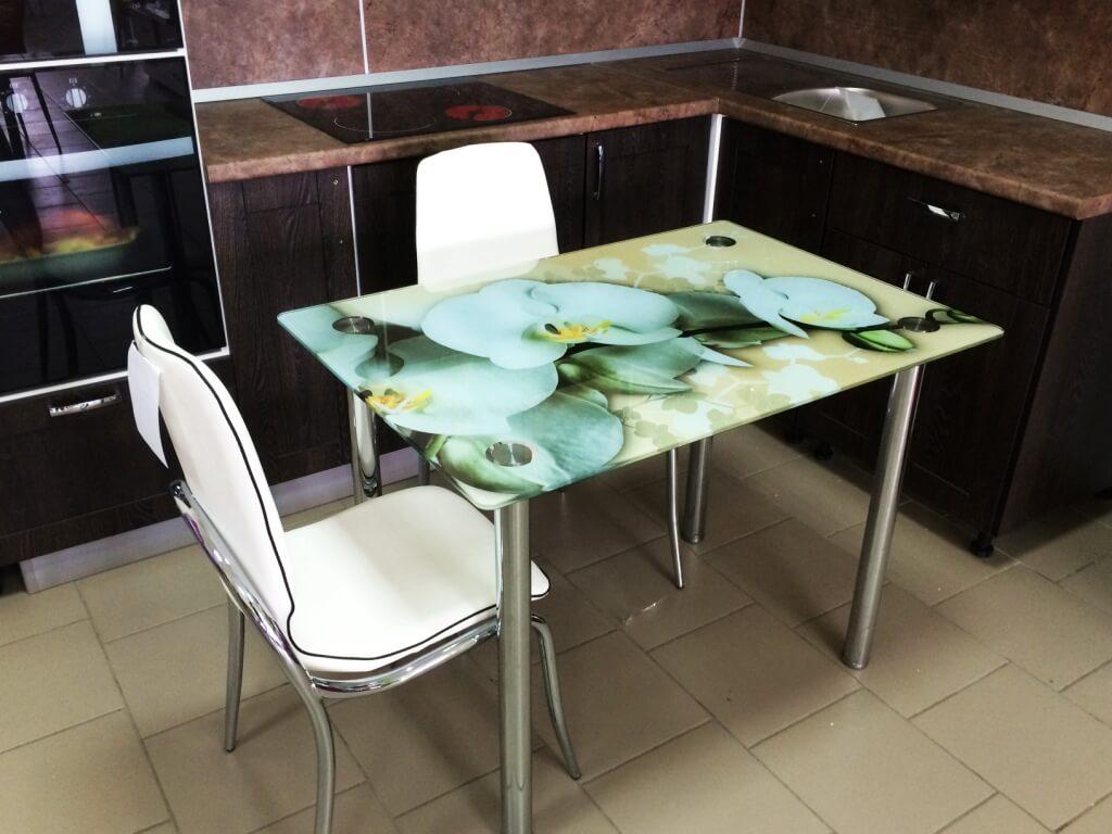 Белая орхидея 1000х700
