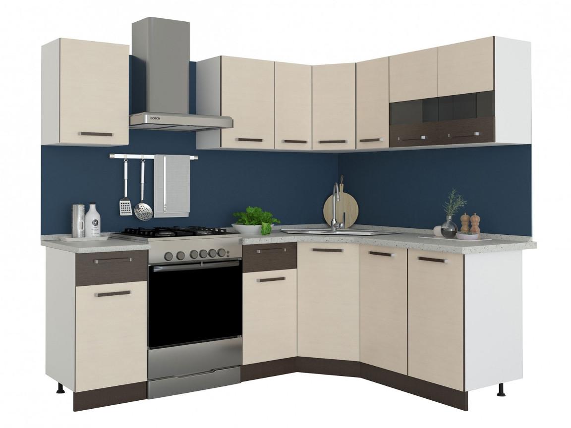 фото Угловая кухня Модена 1650х1650