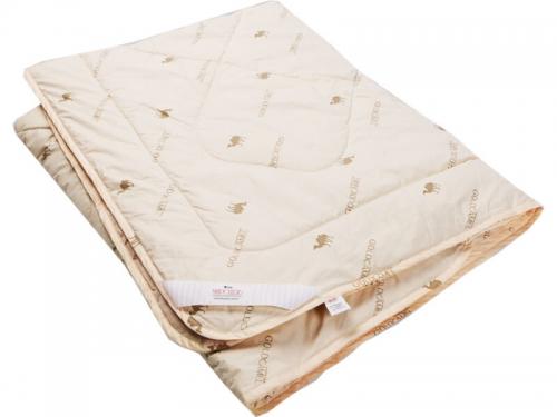 Одеяло стеганое на верблюжьей шерсти теплое