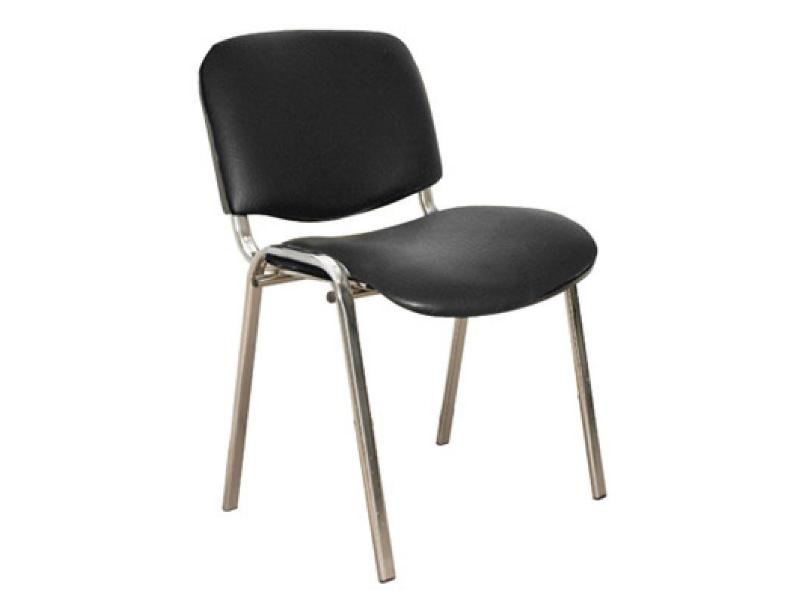 фото Офисный стул Изо хром кожзам