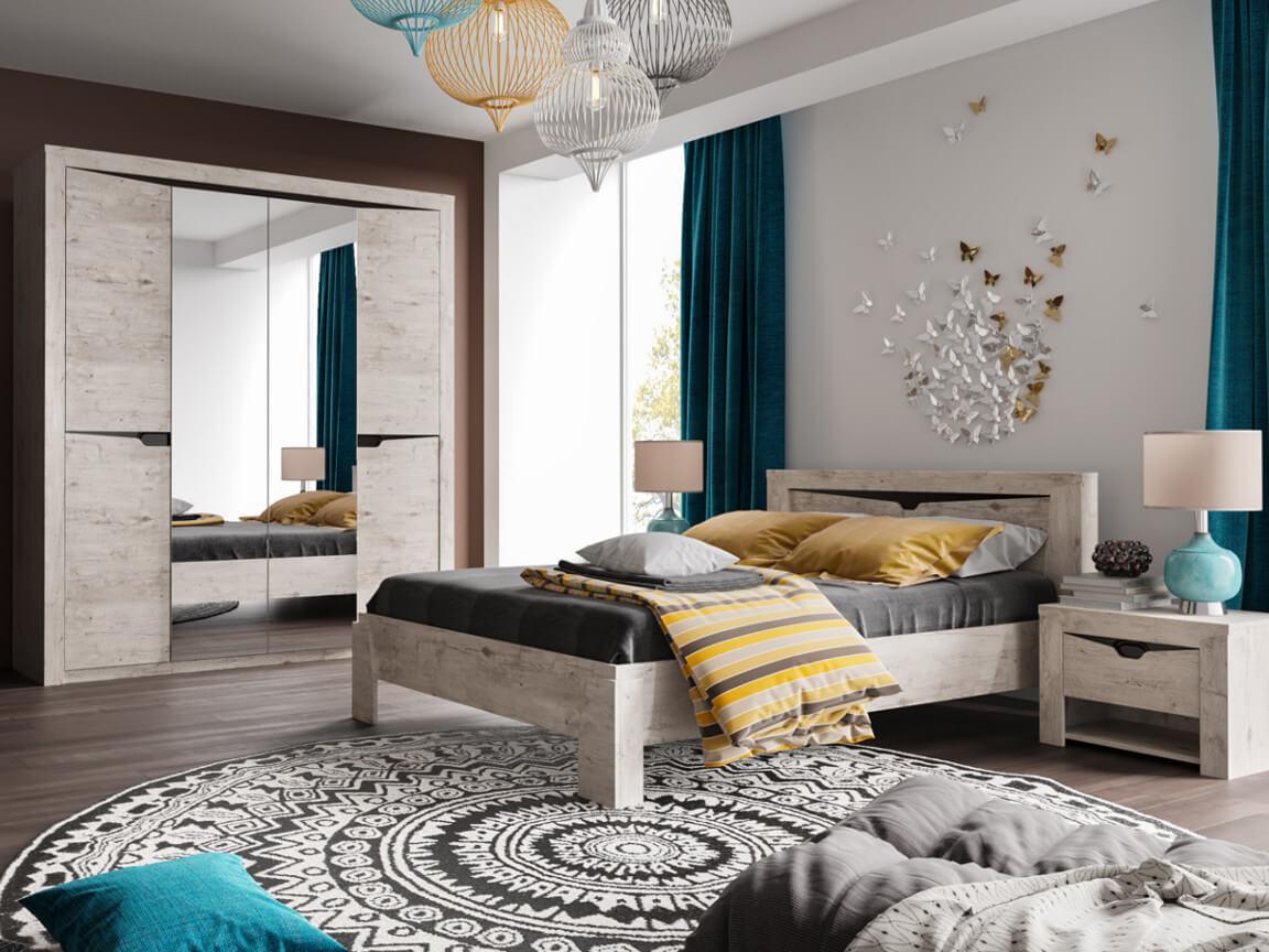 фото Спальня Соренто Дуб бонифаций