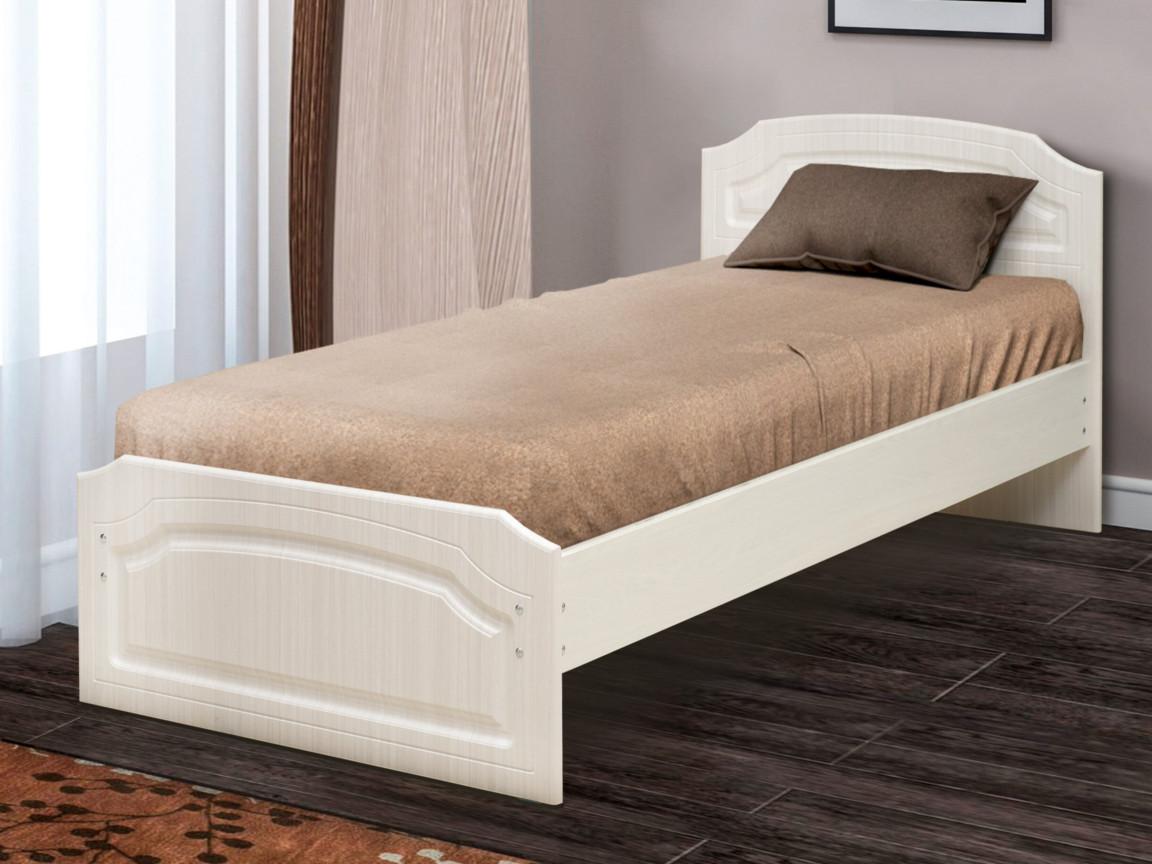 фото Кровать одинарная Венеция 3 матовая