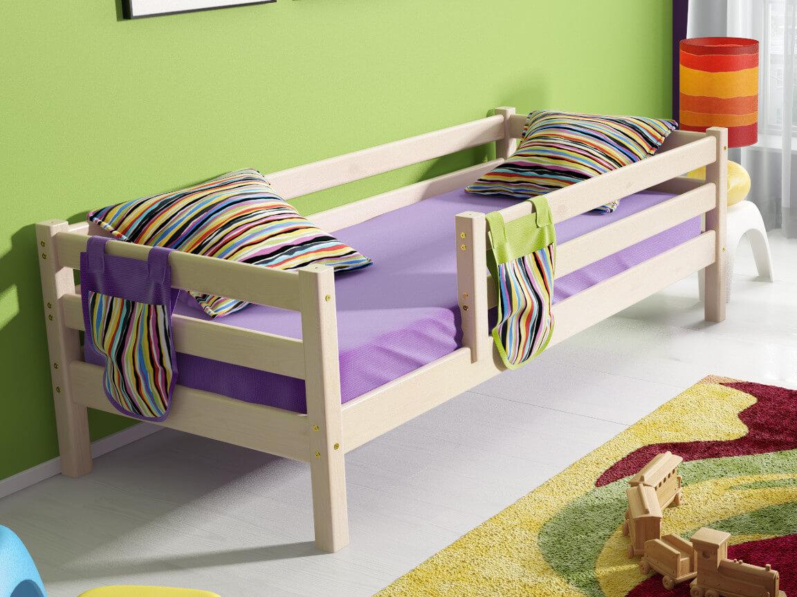 фото Кровать Соня с защитой по периметру No 3
