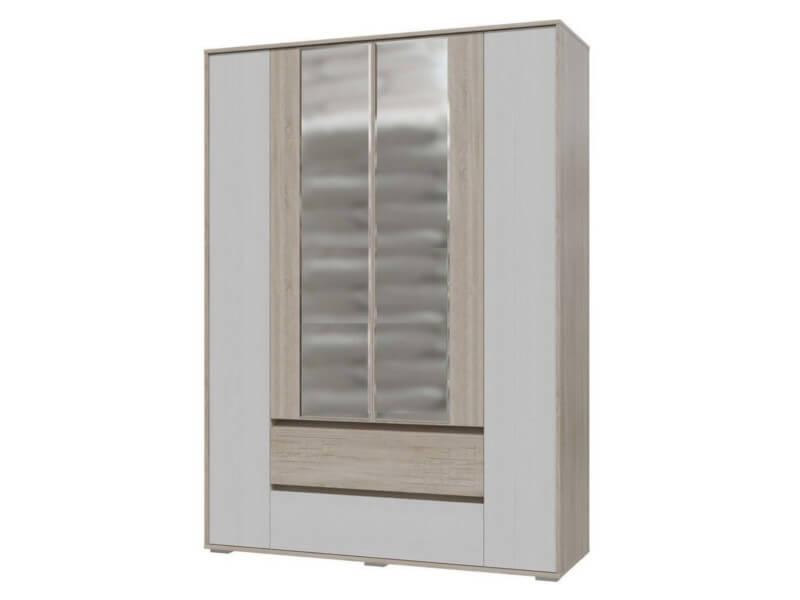 фото Шкаф 4-х дверный с ящиками Мальта Гранд