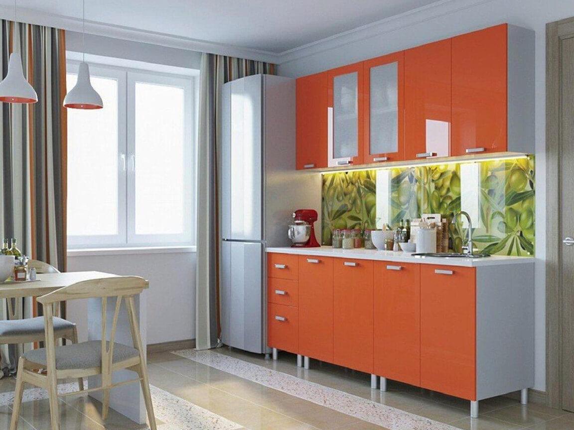 фото Кухня Модерн Оранж