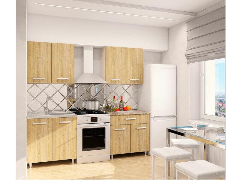 фото Кухонный гарнитур Эко Дуб Сонома