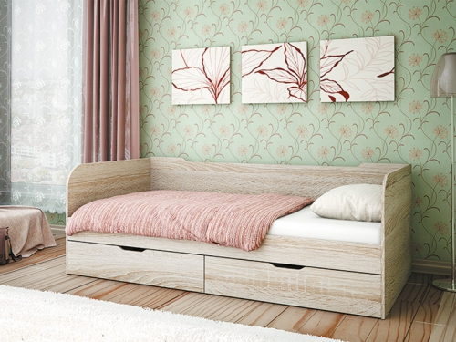 Кровать с ящиками Пеликан