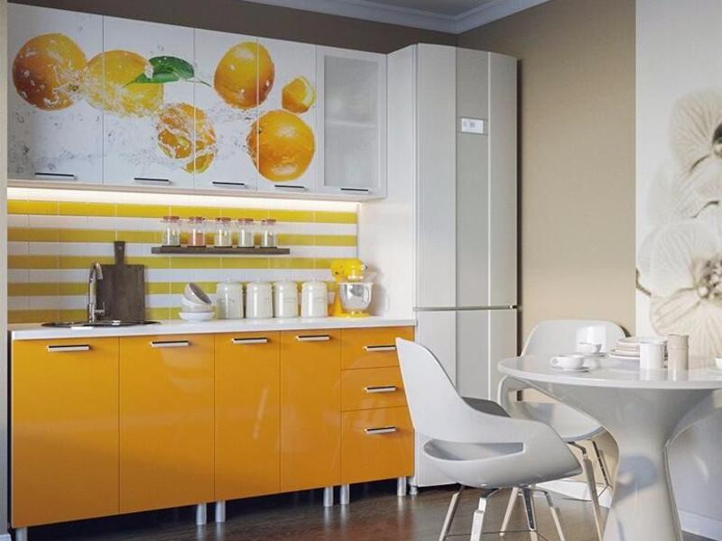 фото Кухня Апельсин