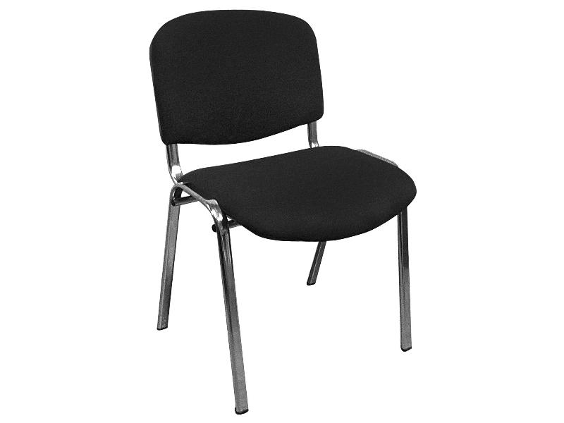 фото Офисный стул Изо хром ткань