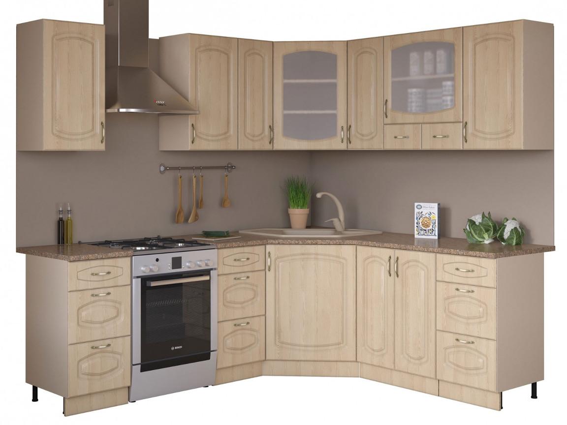 фото Угловая кухня Паула 1650х1850