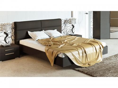 Кровать Наоми с мягкой спинкой