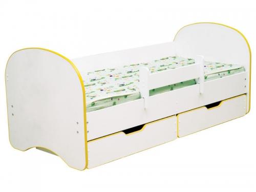 Кровать детская Радуга с 2-мя ящиками