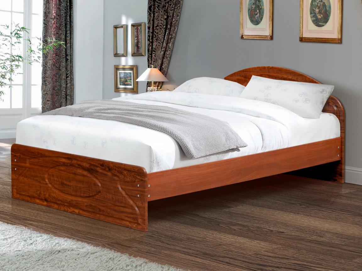 фото Кровать двойная Венеция 2 матовая