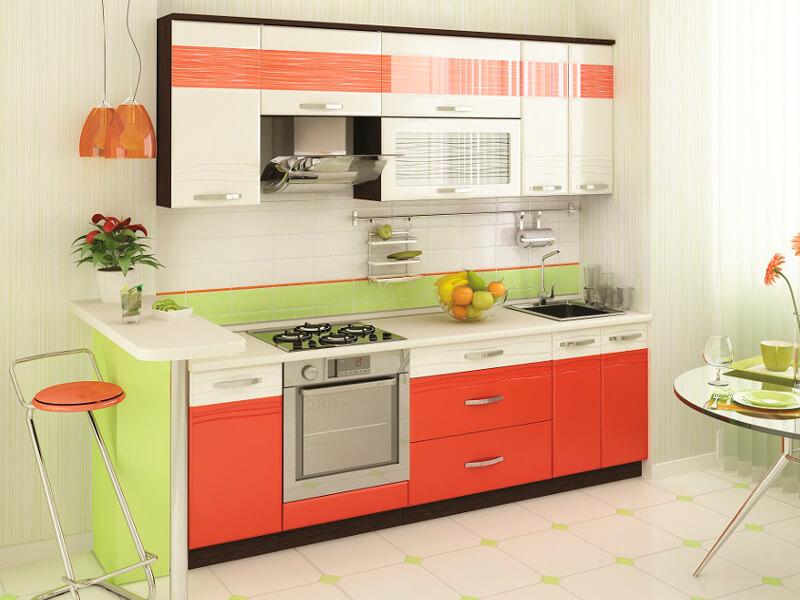 фото Кухня Оранж 9