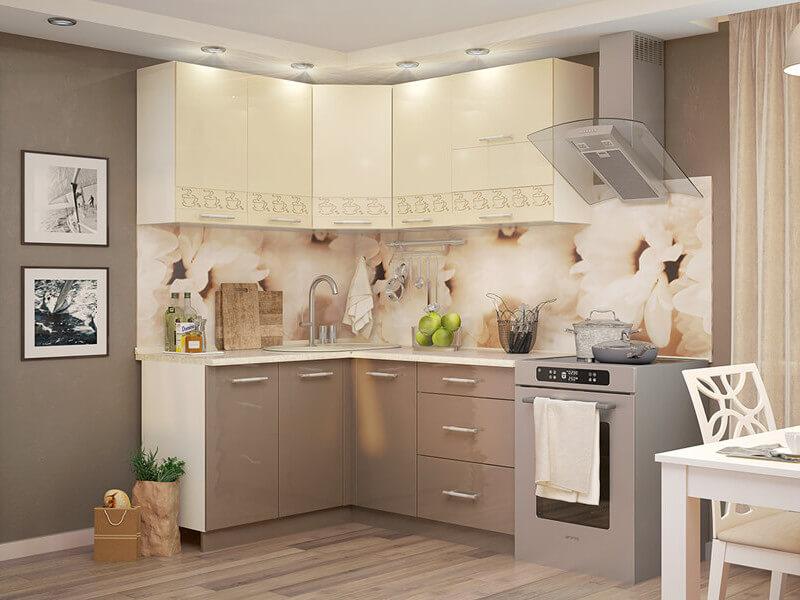 фото Кухня Латте ваниль-кофе с молоком