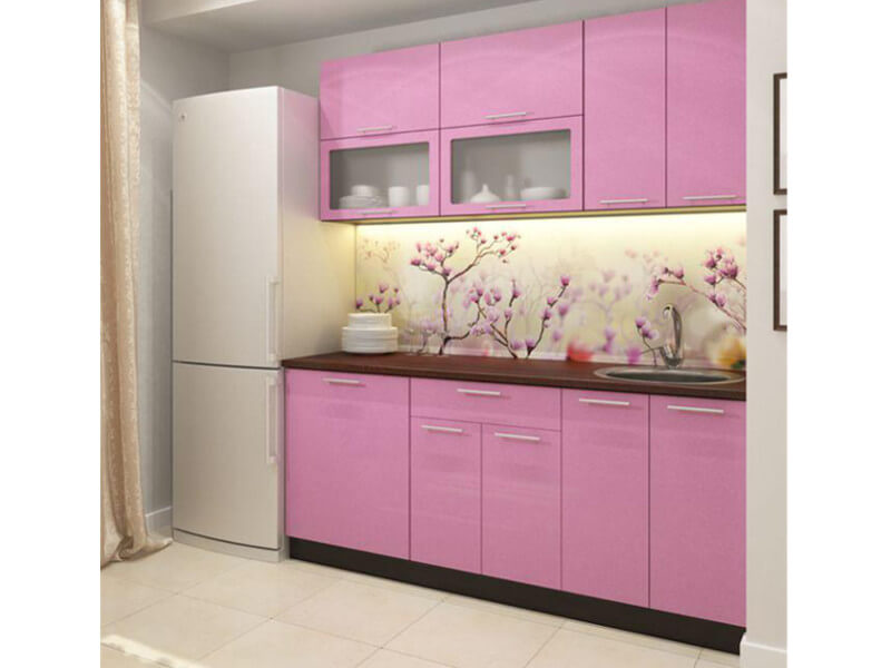 фото Кухня Фиалка 1800
