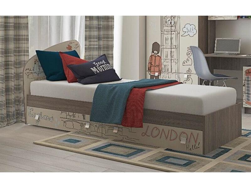 фото Кровать с ящиками Лондон