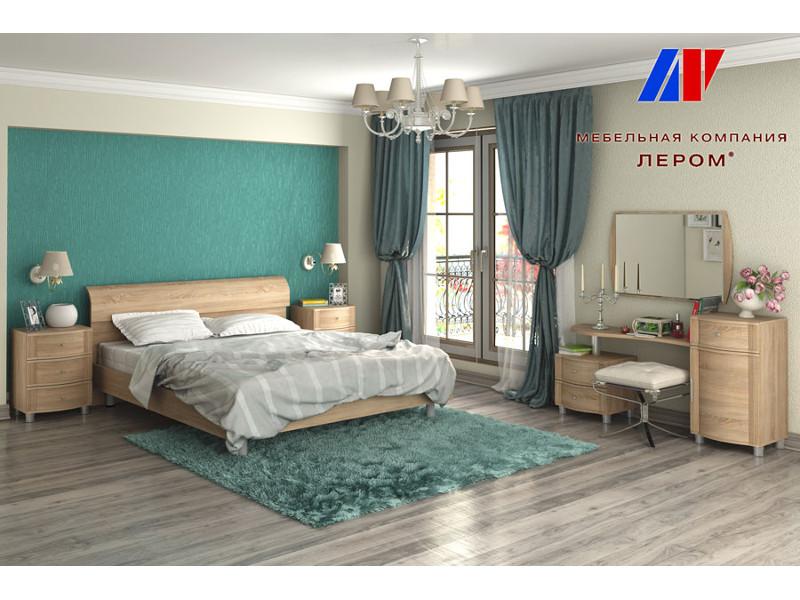 фото Спальня Дольче Нотте Дуб Сонома