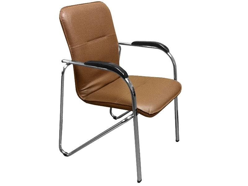 фото Офисный стул Самба хром