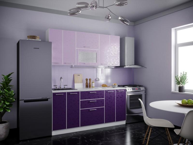 фото Кухня Магнолия Ирис 1800