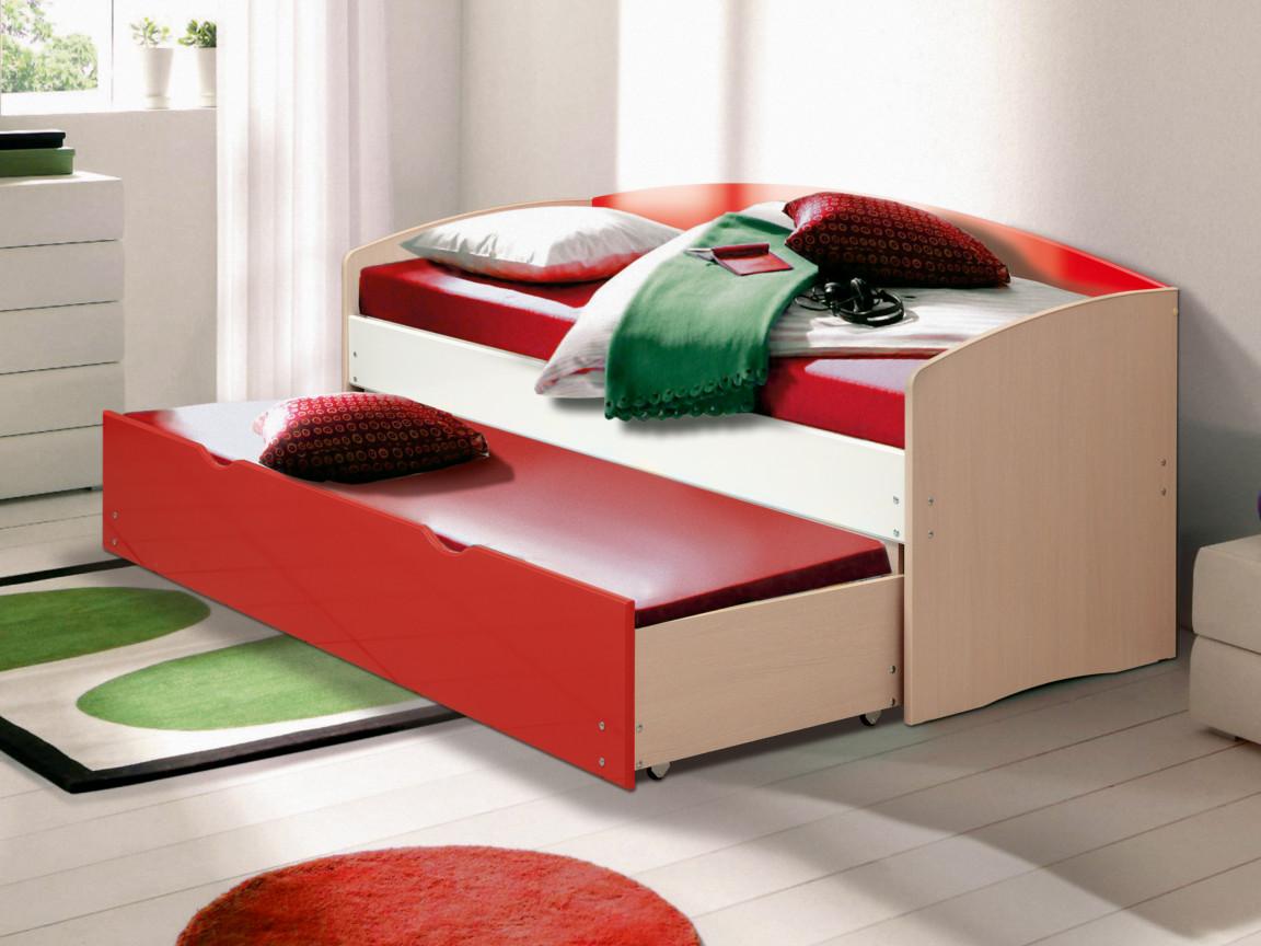 фото Кровать детская выдвижная Матрица мдф