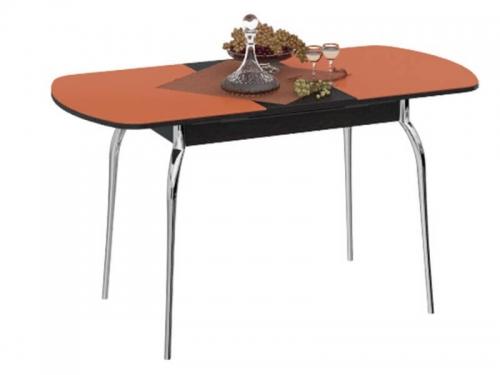 Стол обеденный Милан на металлических ножках