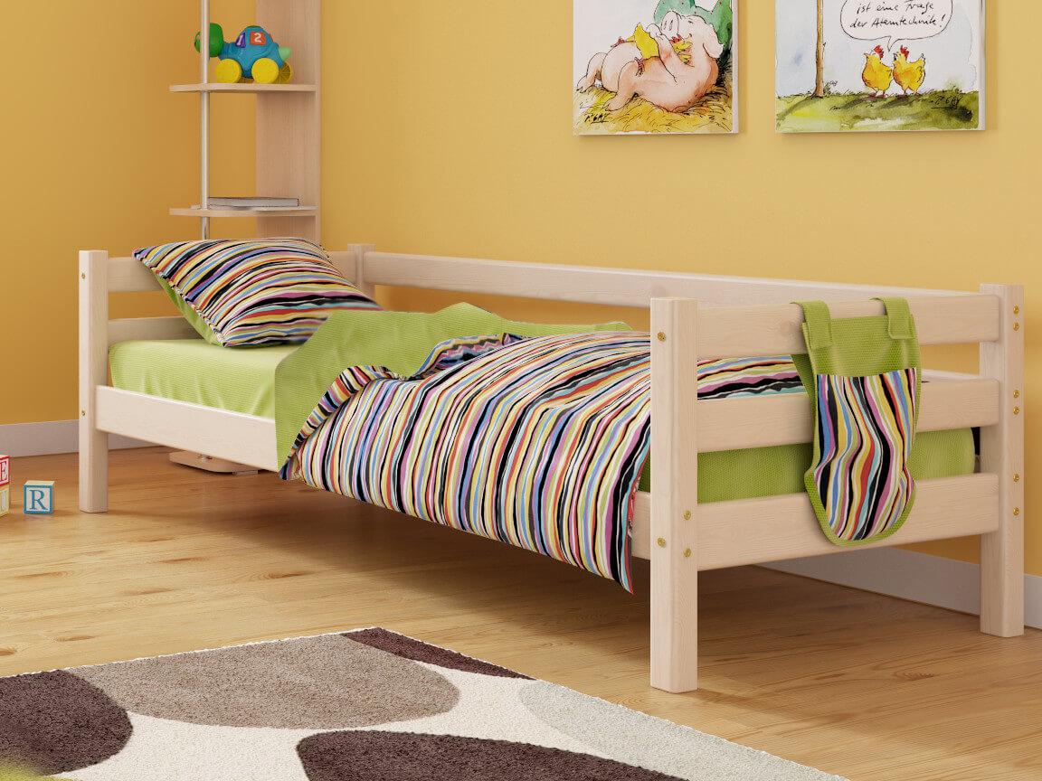 фото Кровать Соня с задней защитой No 2