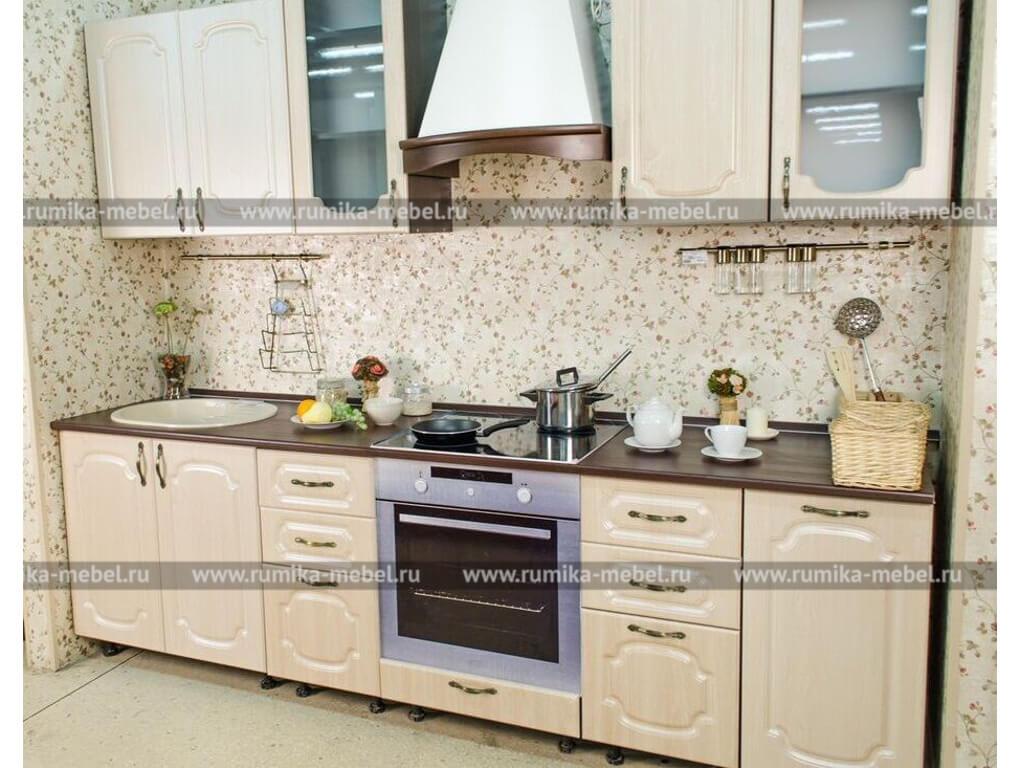 фото Кухня Фантазия клен перламутр