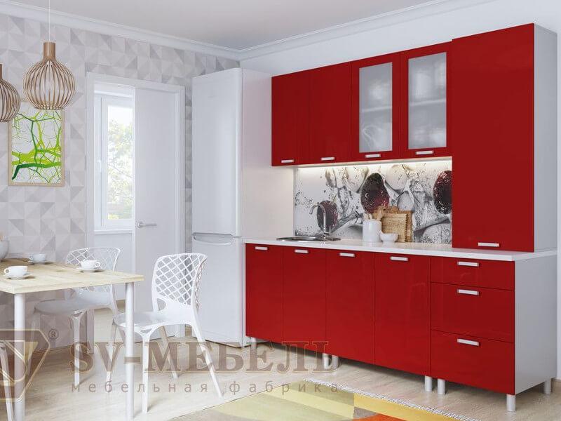 фото Кухня Модерн Гранат
