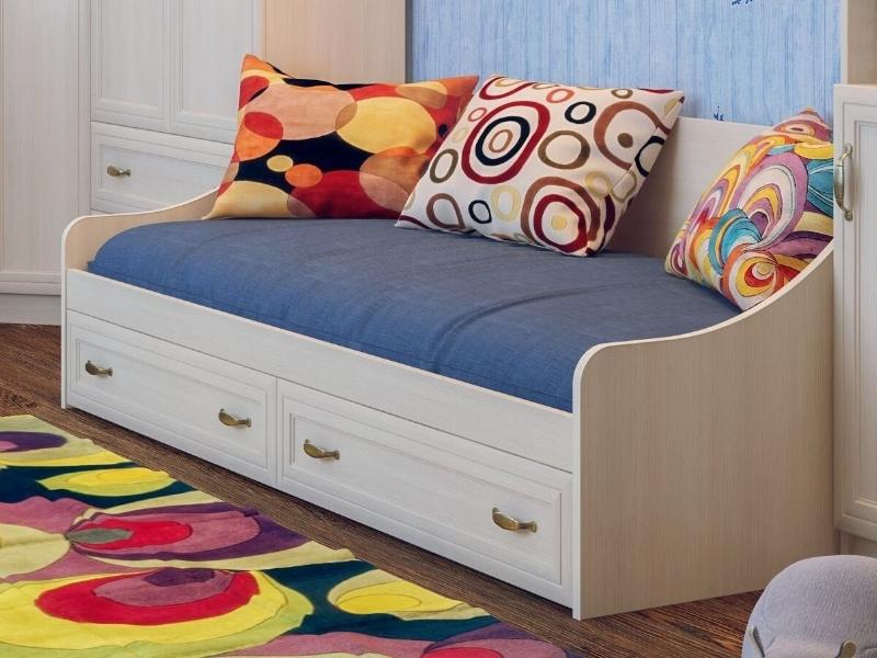 фото Кровать с ящиками Вега ДМ-09