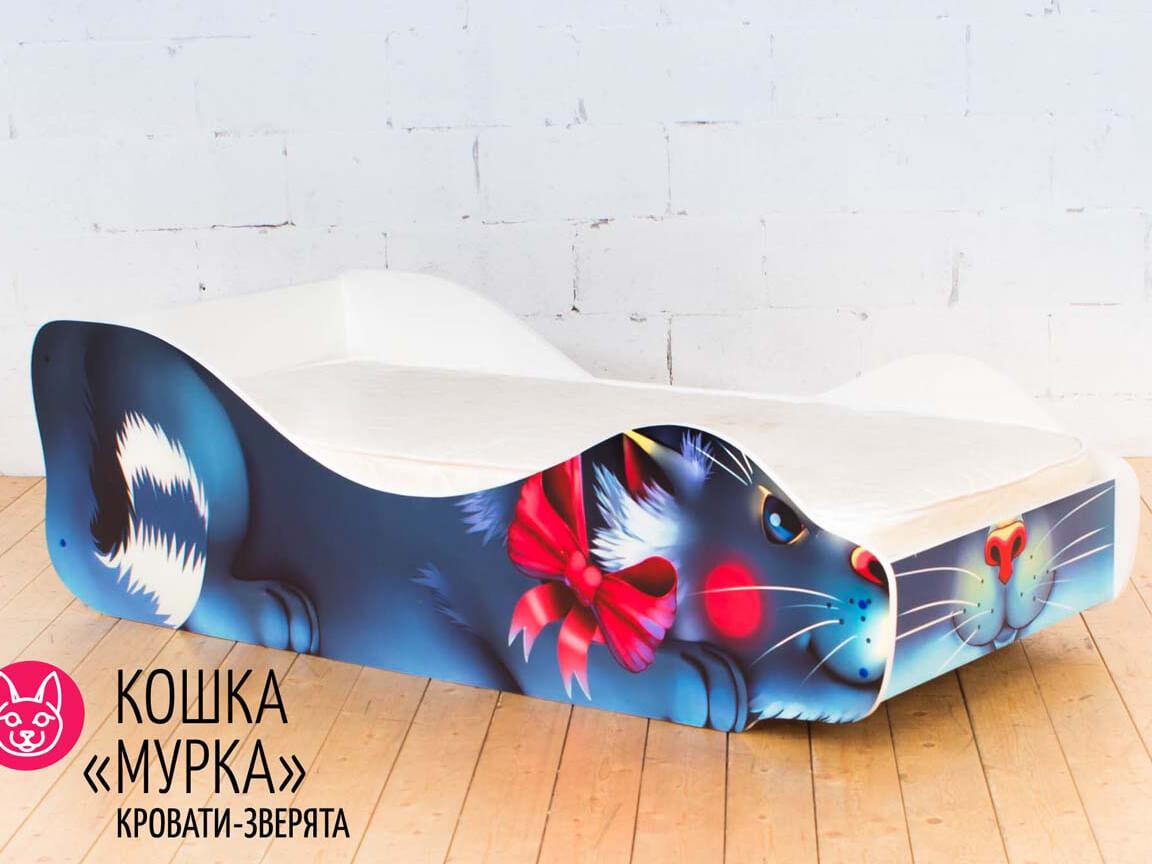 фото Детская кровать Кошка - Мурка