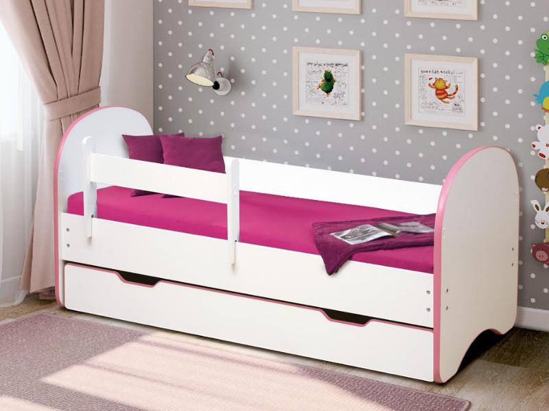 фото Кровать детская Радуга с 1 ящиком