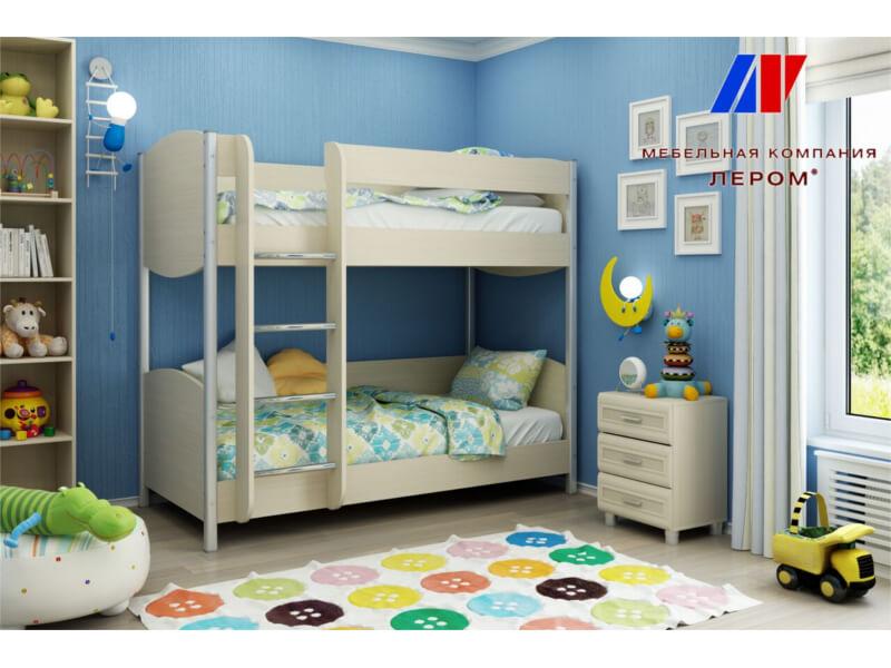 фото Кровать двухъярусная КР-123
