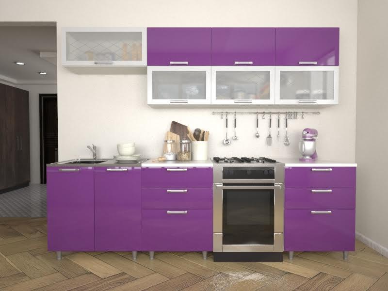 фото Кухня Умница - Виолетта МДФ