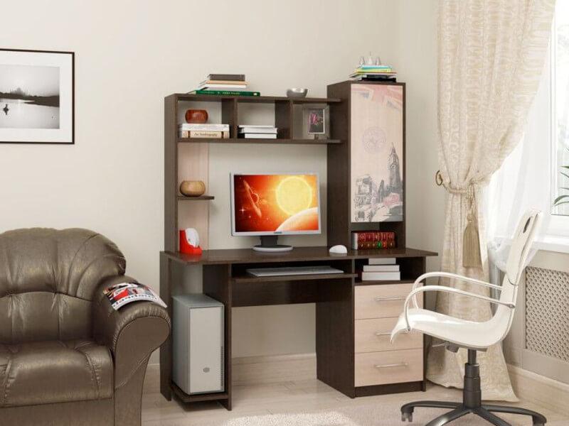 фото Компьютерный стол СВ-6 Британия