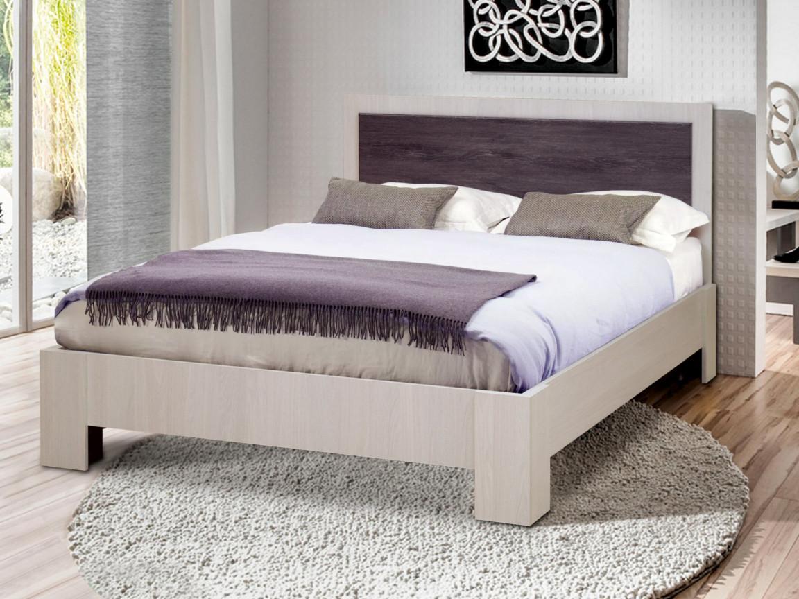 фото Кровать двойная Венеция 6 матовая