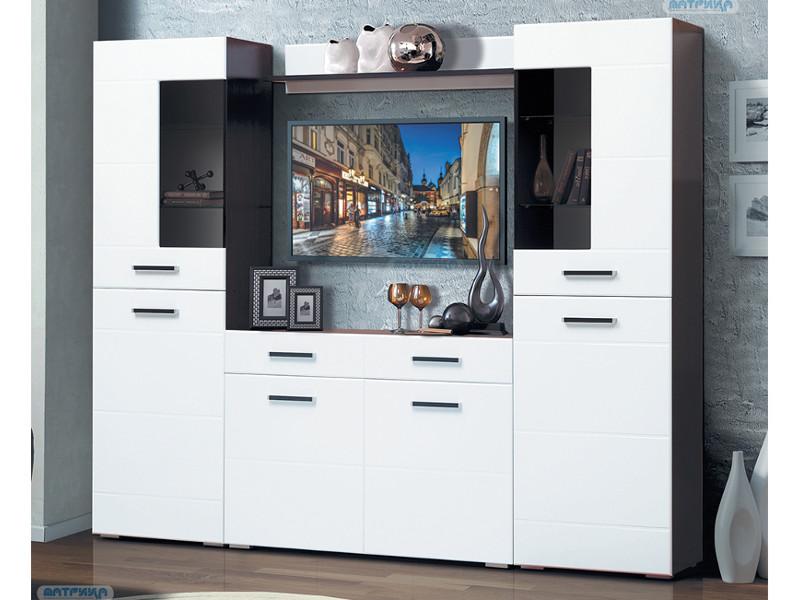фото Гостиная Грация 1-8 с комодом с 2-мя ящиками и 2-мя дверями